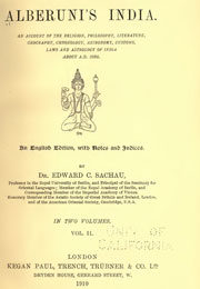 alberunis-india-volume-2