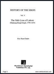 History-of-Sikhs-Vol-5-Maharaja-Ranjit-Singh,-1799-1839-by-Hari-Ram-Gupta