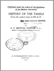 History-of-the-Tamils-from-the-earliest-times-to-600-A.D-by-Srinivas-Iyengar