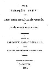 tabaqat-i-nasiri
