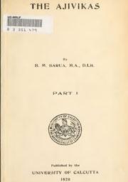 the-ajivikas-by-beni-madhab-barua