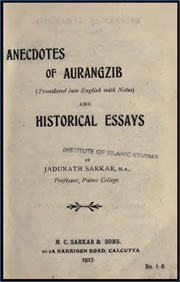 anecdotes-of-aurangzib-jadunath-sarkar