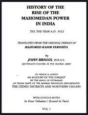 history-of-the-rise-of-the-mahomedan-power-in-india-volume-1