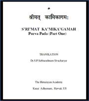 Kamika-Agama-Poorva-Pada-Part-1