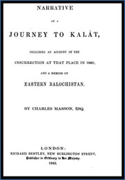 Narrative-of-a-Journey-to-Kalat-in-1840-And-a-Memoir-on-Eastern-Balochistan-by-Charles-Masson