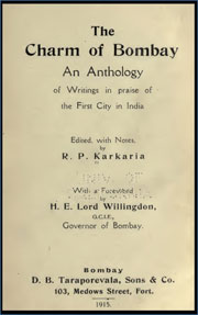 the-charm-of-bombay-an-anthology-of-writings-in-praise-of-the-first-city-of-indiaf