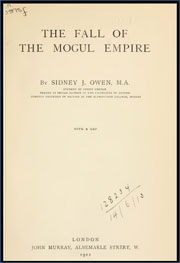 the-fall-of-the-mogul-empire-by-sidney-james-owen