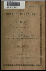 the-governors-generals-of-india-by-henry-morris