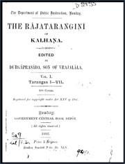 The-Rajatarangini-in-Sanskrit-vol-1-by-Kalhana