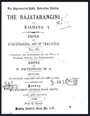 The-Rajatarangini-in-Sanskrit-vol-3-by-Kalhana
