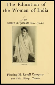 the-education-of-the-women-of-india-by-minna-galbraith-cowanf