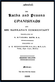The-Katha-And-Prasna-Upanishads-Vol-I
